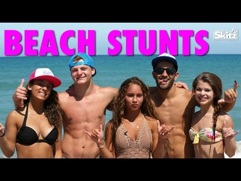 Beach Stunts | Gabi Butler Cheer