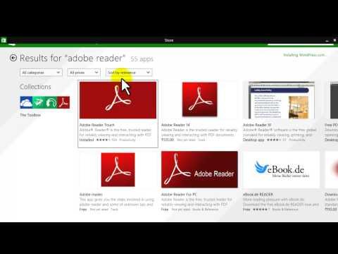 how to open pdf file in windows 8 and windows 8.1....!!!!!!