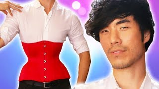 The Try Guys Wear Corsets For 72 Hours