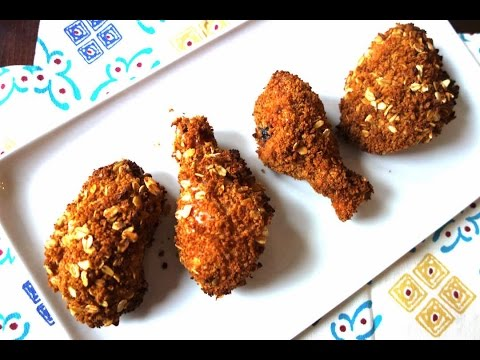 Oven Fried Chicken - No deep frying