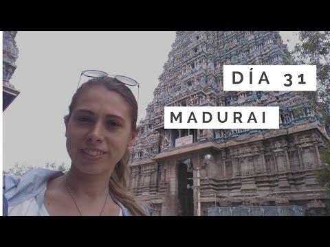 Día 31. Visita a Madurai y tren hasta Pondicherry