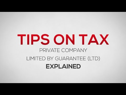 What is a Private Company Limited by Guarantee? (LTD)