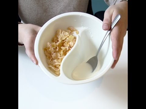 This bowl keeps your cereal from getting soggy