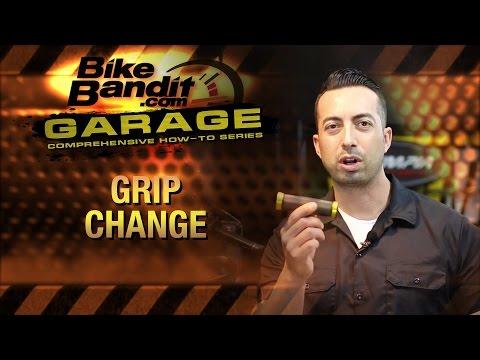 How To Change Motorcycle Grips | BikeBandit.com