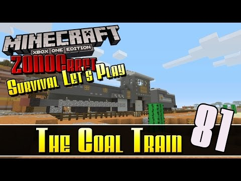 Minecraft Survival Let's Play :: The Coal Train :: E81 :: Z One N Only
