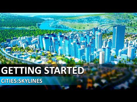 Cities Skylines Tutorial #1 - Getting Started - Cities Skylines Beginners Guide