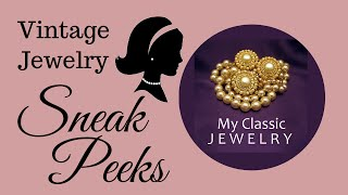 Vintage Jewelry Sneak Peek: Jomaz, Napier, Trifari, Monet, and more by My Classic Jewelry