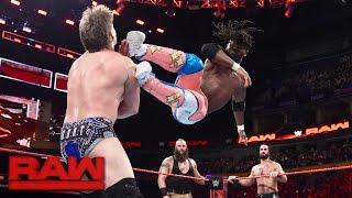 The New Day vs. Seth Rollins, Chris Jericho & Braun Strowman: Raw, Nov. 14, 2016
