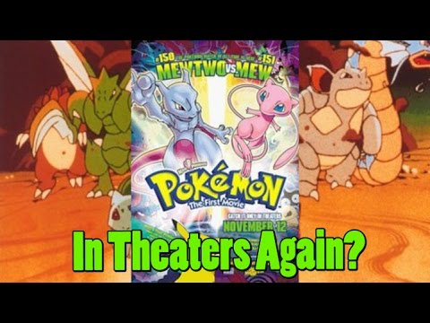 Pokemon The First Movie Being Shown Again This Month At Cinemark