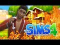 I BURNT MY HOUSE DOWN The Sims 4 2