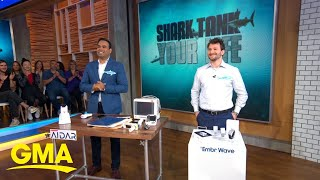 Daymond John of 'Shark Tank' weighs in on pitches for AARP's Innovator in Aging award l GMA