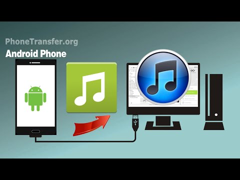 [Android to iTunes]: How to Sync Music & Playlist from Android Phone to iTunes