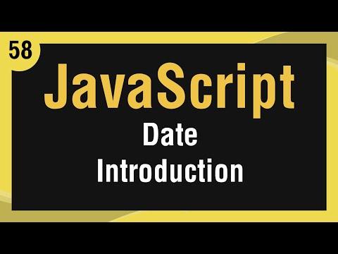 [ Learn JavaScript In Arabic ] #58 - Date - Date Intro