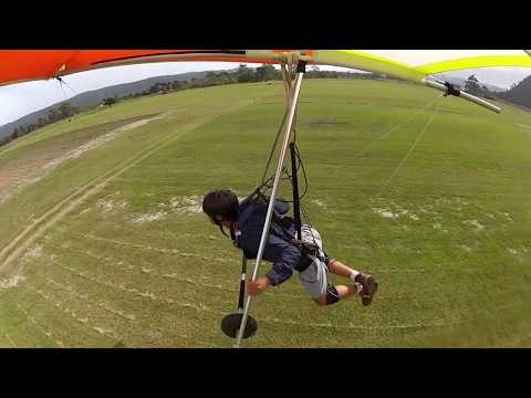Hang gliding at Sedgefield South Africa 2018