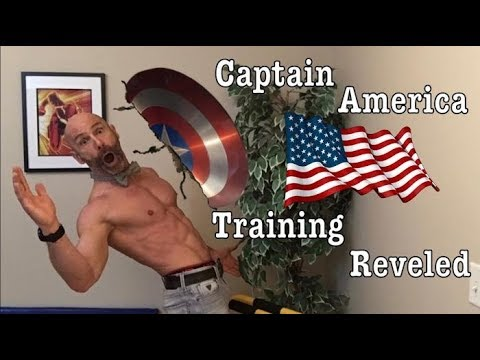 How Chris Evans trained to become Captain America. Part 2 Captain America exercises and workout!