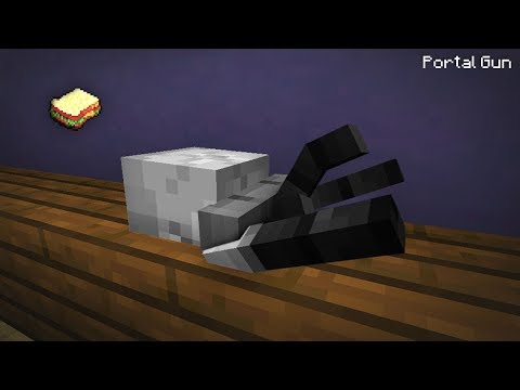 Minecraft | How to make a Portal Gun *NOT CLICKBAIT*
