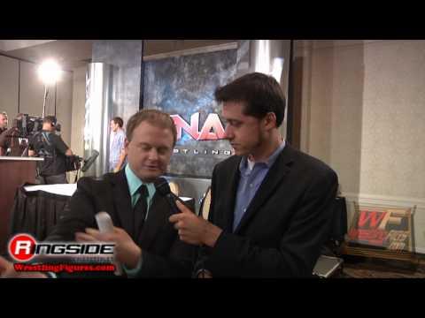 Jeremy Borash Interview TNA Wrestling Jakks Pacific Slammiversary VIII Toy Action Figure