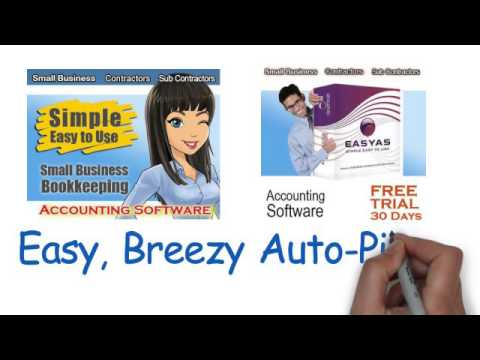 Easy Simple Accounting Software for Small Business