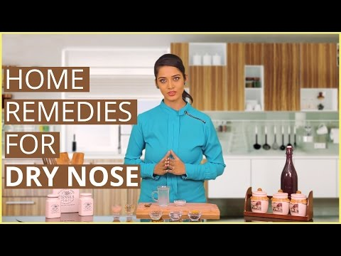 3 Easy Home Remedies For Treating DRY & ITCHY NOSE