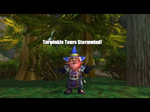 Turwinkle Tours Stormwind in World of Warcraft!