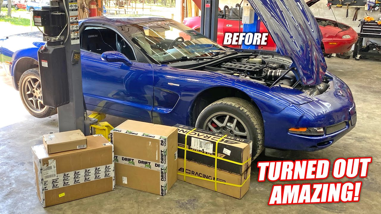 Transforming Donnie the C5 Into a Full Blown DRIFTMOBILE Ripper 9000! (Turning is INSANE!!!)