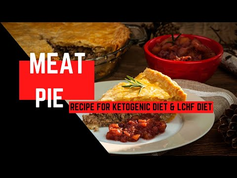 Keto Diet - Low Carb Meat Pie