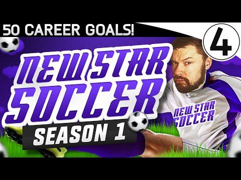50 CAREER GOALS!! - NEW STAR SOCCER! #04