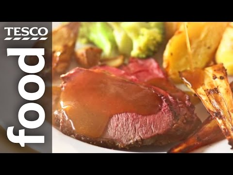 How to Make an All-In-One Roast Beef Dinner | Tesco Food