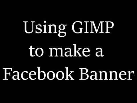 Create Perfect Sized Facebook Banners with Gimp