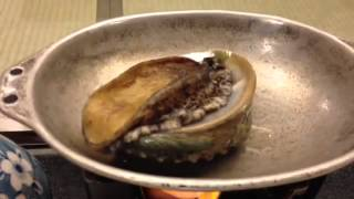 Abalone Still Very Much Alive! Good Eating!