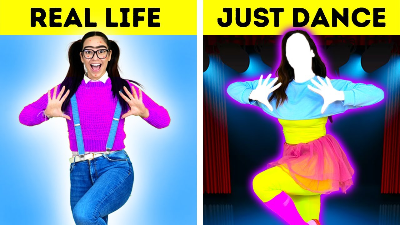 How to Become POPULAR | JUST DANCE in REAL LIFE  – by La La Life Games