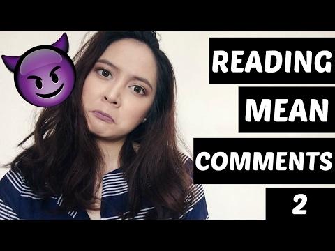 READING MEAN COMMENTS PART 2 | Tish Ortz