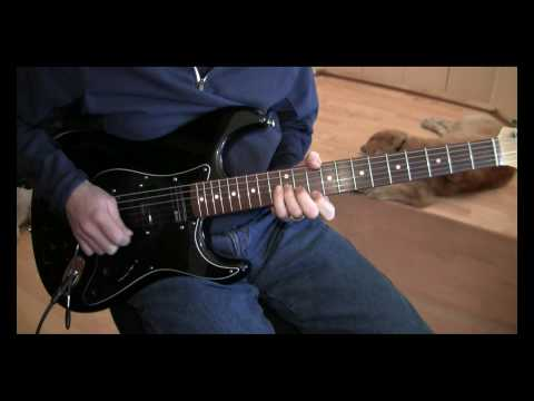 Part 1:  With or Without You (U2 Cover:  Rattle & Hum) with Axe-Fx Ultra