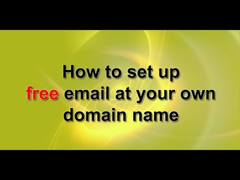 How to Create free business email under your domain without hosting