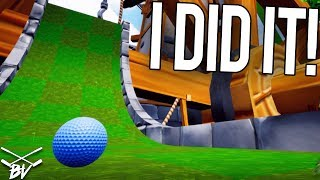 I CAN'T BELIEVE I GOT A HOLE IN ONE! - Golf It! | Brooks Holt