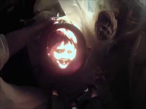 Pumpkin Carving Tutorial - Transferring Photo to Pumpkin