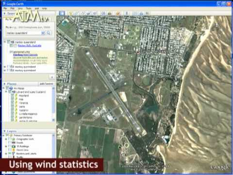 Google Earth and Wind Stats