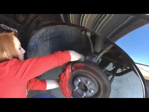 C6 Z06 Brake Pad Replacement
