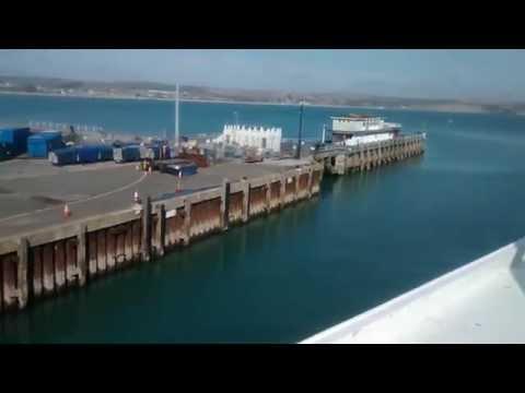 Condor Express leaving Weymouth