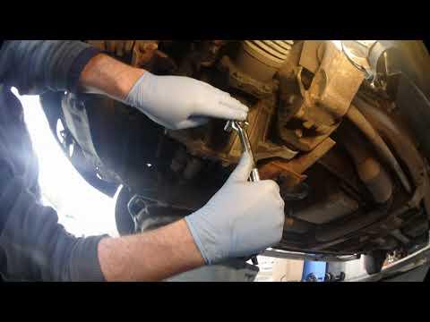 Silverado 2004 4x4 Z71 front differential oil change