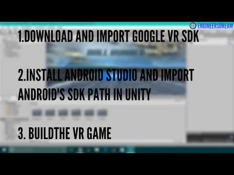 36. DOWNLOAD AND IMPORT GOOGLEVR | BUILD VIRTUAL REALITY GAMES FOR GOOGLE CARDBOARD USING UNITY