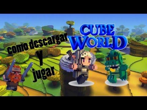 Como Descargar Cube World Completo Gratis! + Solucionar error DirectX - 2013