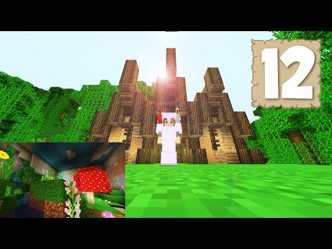 JUNGLE HORSE STABLE & ARTIFICIAL SKIES! - Survival Let's Play Ep.12 - Minecraft 1.2