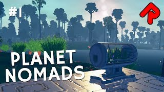 Let's play Planet Nomads gameplay ep 1 (early access): Sci-fi open-world survival!