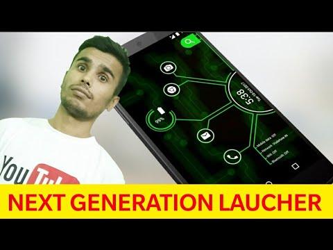 Arc Hi-Tech Laucher- NEXT Generation Theme ! App Of The Day ! Day 26