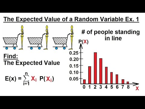 Prob & Stats - Random Variable & Prob Distribution (12 of 53) The Expected Value Ex. 1