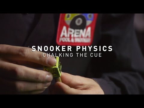 Snooker Physics: Chalking the Cue