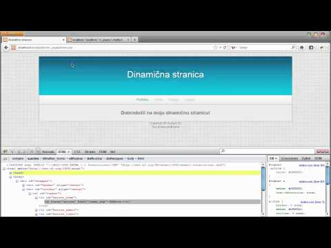 PHP Tutorial   Dinamične stranice (Part 3) [HD]