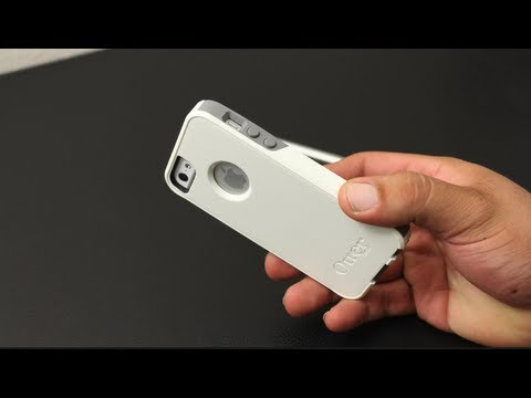Otterbox Commuter Series For The iPhone 5 (White / Gunmetal Grey)