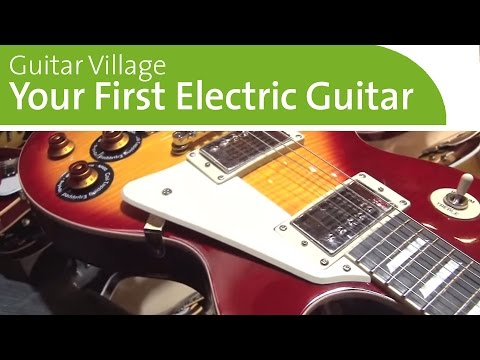 Buying Your First Electric Guitar - Best Guitars for Beginners